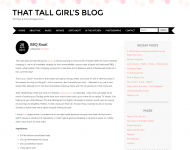 That Tall Girl's Blog